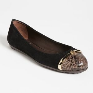 Tory Burch Size 9 Pacey Skimmer Ballet Flats Shoes